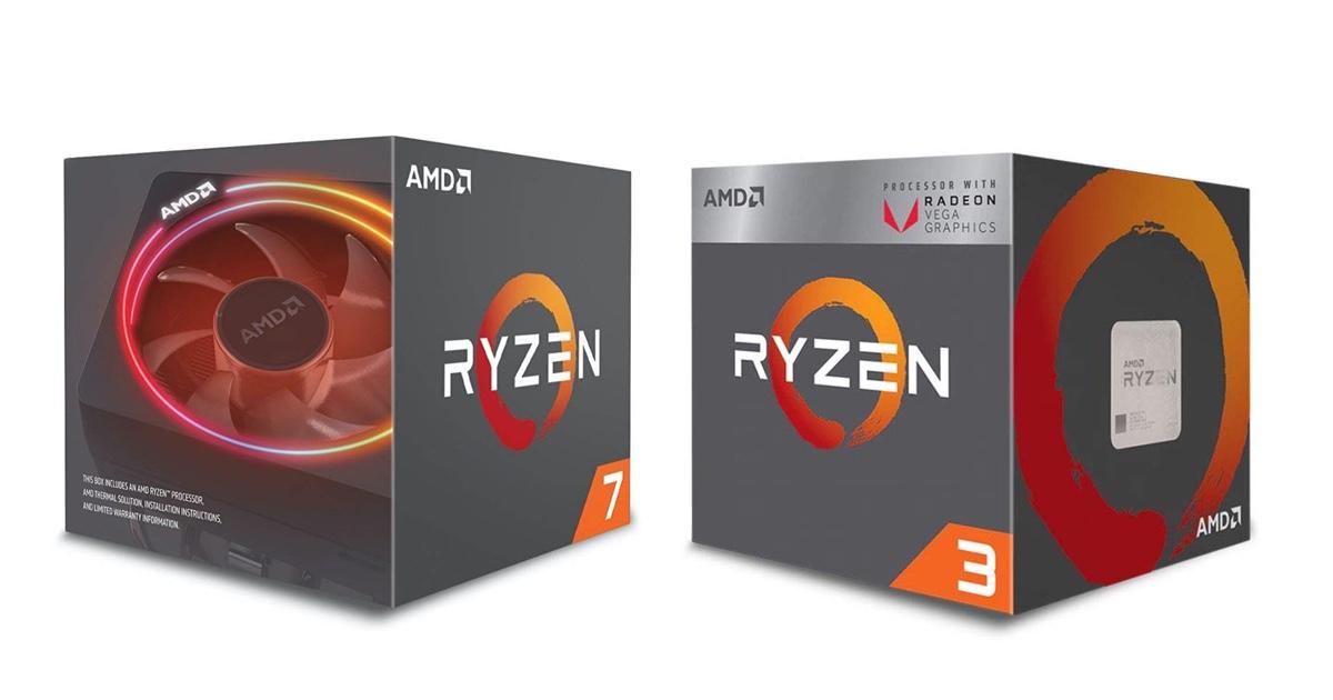 hot-deals-on-amd-cpus:-ryzen-3-3200g-for-$87,-ryzen-7-2700x-for-$159