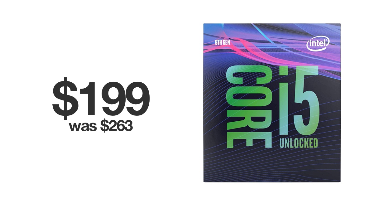 black-friday-2019-deal:-intel-core-i5-9600k-processor-for-$199-[$64-off]