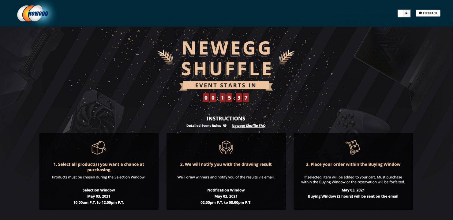 newegg-shuffle:-nvidia-geforce-rtx-30-series-&-amd-radeon-rx-6000-series-graphics-cards-available-in-today's-shuffle