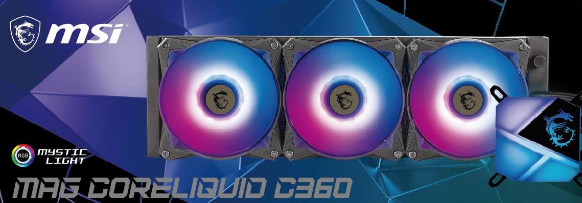 msi-mag-coreliquid-c360-aio-liquid-cooling-pictured,-offers-full-compatibility-with-lga-1700-'intel-alder-lake'-cpu-socket