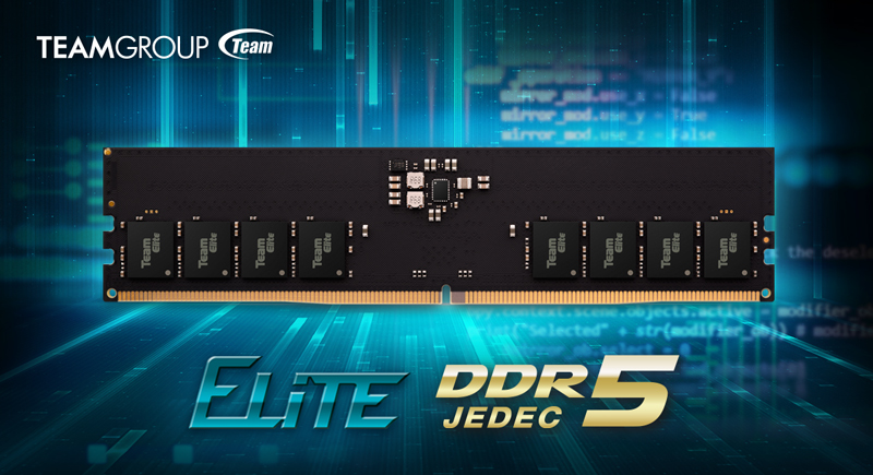 teamgroup-officially-launches-elite-series-ddr5-memory-kits,-32-gb-&-4800-mhz-starting-at-$399.99-us