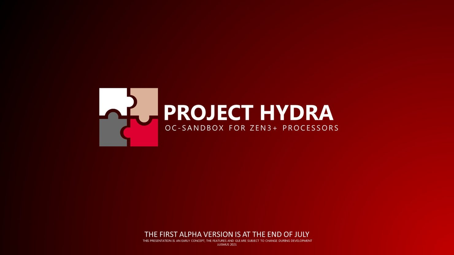 1usmus-unveils-project-hydra:-a-brand-new-overclocking-&-tuning-utility-for-amd-zen-3-&-zen-3+-ryzen-cpus