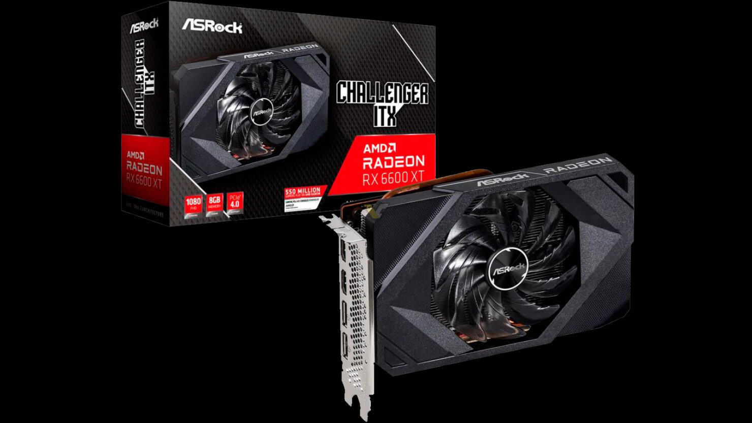 asrock-intros-the-first-mini-itx-graphics-card-powered-by-rdna-2,-the-radeon-rx-6600-xt-challenger-itx