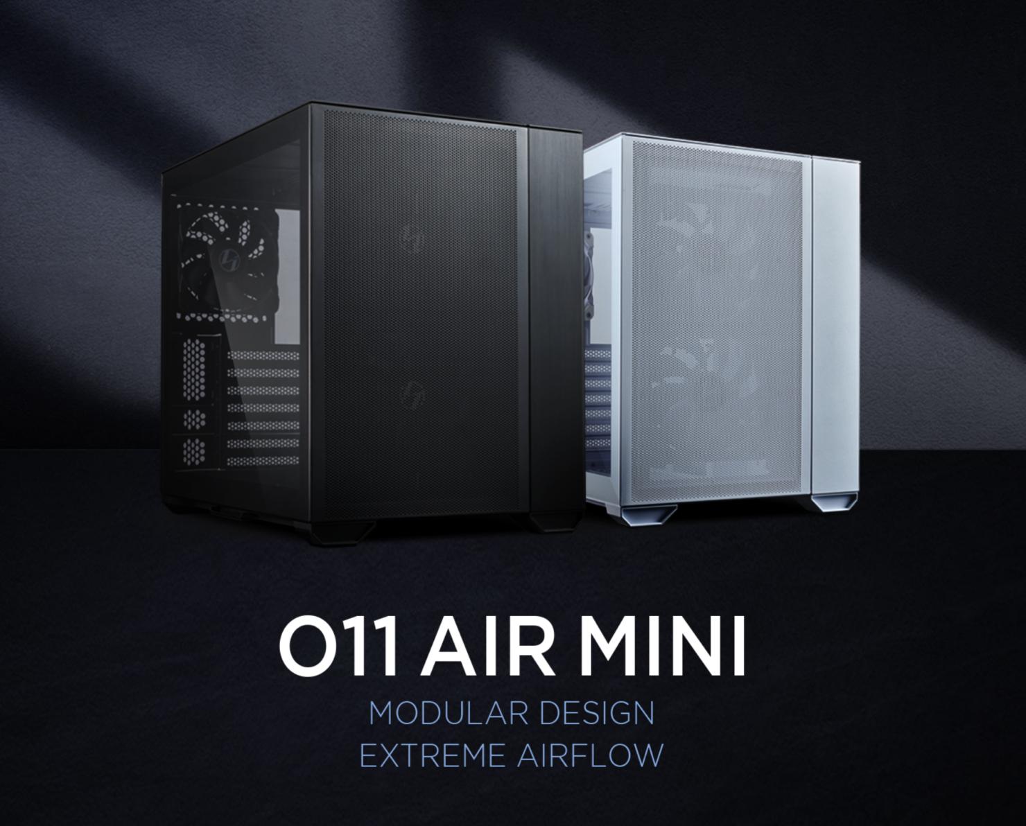 lian-li-launches-o11-air-mini,-a-small-footprint-modular-case-focusing-on-cooling-&-starting-at-$109-us